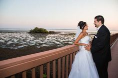 Yellows and Blues Compliment a Gorgeous Seaside Wedding at the Grand Hyatt Tampa Bay