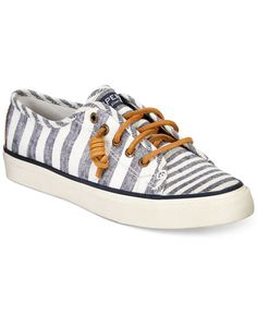 I have these and I love them!! <3 Sperry Top-Sider Women's Seacoast Sneakers (in size 7 or 7.5 -- any color!)