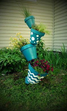 Topsy pots!