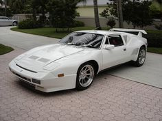 Detomaso Pantera GT5S White | Flickr - Photo Sharing!