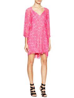 Fleurette Silk Kaftan Dress from Diane von Furstenberg Apparel on Gilt
