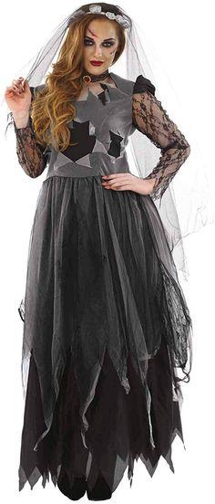 Amazon.com: fun shack Womens Skeleton Costume Adults Halloween Black Tutu Dress Outfit: Clothing Adult Costumes, Costumes For Women, Zombie Costume Women, Corpse Bride Costume, Black Zombie, Zombie Wedding, Black Tutu, Bride Gowns, Dress Outfits