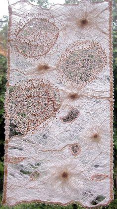 Transparence by Cécile Meraglia Aventures Textiles: mai 2005
