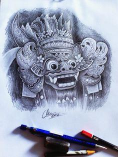 barong tattoo design