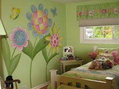Whimsical Child's Bedroom Mural