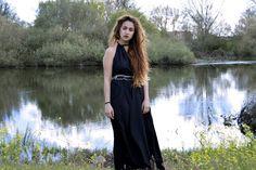 CAT FASHION BLOG: BLACK DRESS #kissmylook