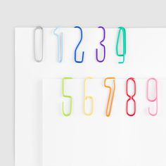 Creative product designs #40 - Numberclips