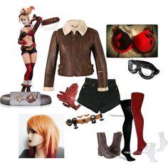 Bombshell Harley Quinn: Cosplay