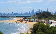 Brighton beach, Melbourne, Victoria