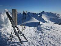 Mulhacen and Cerro de los Machos from Veleta peak