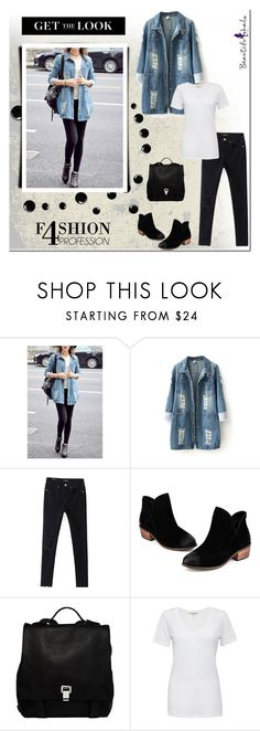 """""""Get the Look!"""" by tatajrj ❤ liked on Polyvore featuring Proenza Schouler, Cotton Citizen, beautifulhalo and bhalo"""