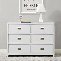 Dorel Living DA7319-1 Baby Relax Miles 6-Drawer Dresser $377