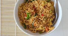 Rice Recipes, Asian Recipes, Dinner Recipes, Healthy Recipes, Ethnic Recipes, Nasi Goreng, Healthy Cooking, Cooking Recipes, Cooking For Dummies