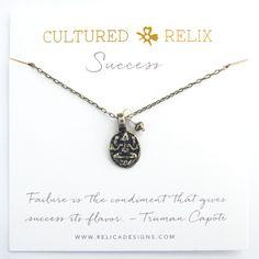 Ganesha Success Relic Necklace