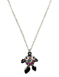 Rainbow Rhinestone Fish Necklace | Animal Shop | Jewelry By Trend | Shop Justice