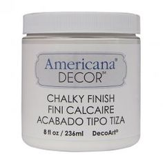 Americana Decor Chalky Finish | Tienda de bellas artes, manualidades y aerografia online.