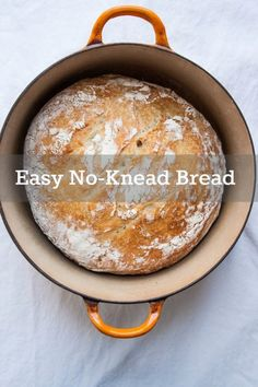 No-Knead Bread | TheCornerKitchenBlog.com