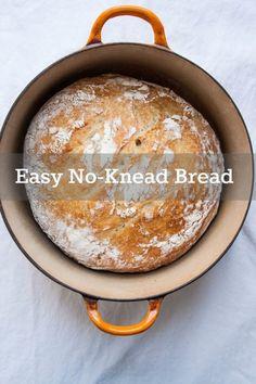 No Knead Bread | TheCornerKitchenBlog.com #recipe #bread