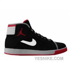 Big Discount 66 OFF Air Jordan Sky High Canvas Black Varsity Red White Cement Grey 407282001