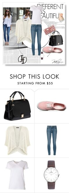 """""""Franco Florenzi"""" by gold-phoenix ❤ liked on Polyvore featuring Miu Miu, Vans, Mint Velvet, Frame Denim, T By Alexander Wang and Monza"""