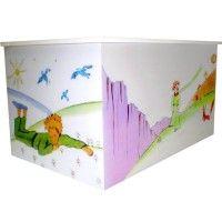 Ξύλινο Μπαούλο Βάπτισης με σχέδιο Μικρός Πρίγκιπας . Αν το θέμα της βάπτισης σας είναι ο μικρός πρίγιπας, αυτό είναι το ιδανικό κουτί βάπτισης για εσά