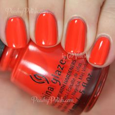 China Glaze Pop The Trunk | Spring 2015 Road Trip Collection | Peachy Polish