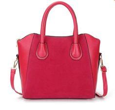 8466ec74e2 Luxusní kožená dámská kabelka přes rameno s popruhem červená – kabelky přes  rameno Na tento produkt