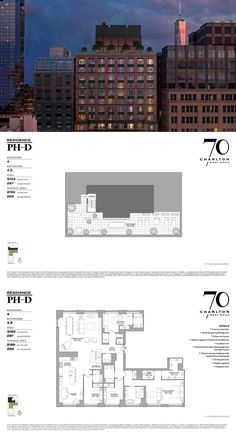 PHD is a 4 bedroom Apartment Unit at 70 Charlton. House Layout Plans, Family House Plans, House Layouts, Home Building Design, Home Design Plans, Building A House, Apartment Floor Plans, House Floor Plans, Architecture Portfolio
