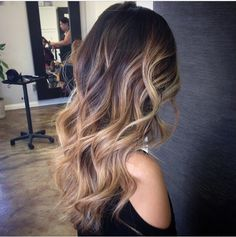 Ombre and balayage