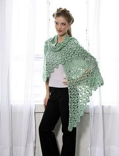Celtic Knot Shawl By Doris Chan - Free Crochet Pattern - (ravelry)