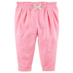 These girls' Carter's knit pants are the perfect everyday staple for your little lady. Baby Girl Bottoms, Baby Girl Pants, Carters Baby Girl, Baby Boy, Baby Girl Fall Outfits, Girl Outfits, Boho Baby Clothes, Ruffle Pants, Kids Pants