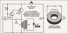 Electronic Circuit Projects, Electrical Projects, Electronic Engineering, Arduino Projects, Electronics Basics, Electronics Projects, Toroidal Transformer, Electric Circuit, Electronic Schematics