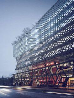 Park 1 in Stockholm :: White Arkitektur  #architecture - ☮k☮ - #modern