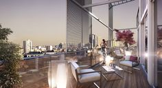 Appartement design avec terrasse Paris 14 Didot