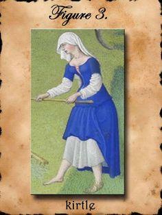 PATRONES MODA SIGLO XIV (HOMBRE Y MUJER)