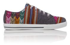 INKKAS® Shoes - Handmade in South America - Concrete Jungle Low Top | INKKAS Phuyupata Shoes | Tribal & Aztec Shoes