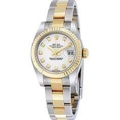 Rolex Women's Lady Datejust 26 Stainless Steel, 18K Yellow Gold Watch.  $11,410.00 Follow @bestwatches1st #rolexwatches @rolex