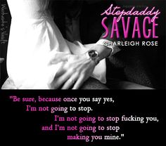 Review: Stepdaddy Savage by Charleigh Rose | Warhawke's Vault Book Blog