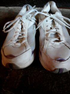 NWOT Women's Rykas rocker sneaker Advance purple and white size 8.5 W A95519 #Ryka #WalkingHikingTrail
