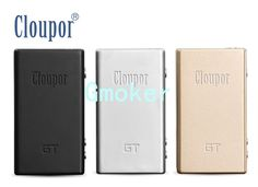 100% Original Cloupor GT TC Box mod cloupor GT 80W mod for cloupor Z4 atomizer Cloupor GT Temperature Control mod  Each Cloupor GT 80W TC Mod Contain  1 pc Cloupor GT 80W TC Mod  1 pc Manual  1 pc Gift Box  Features of Cloupor GT 80W TC Mod  1. Dimensions:94mm x 53mmx 22mm  2. Net Weight:99g  3. Materia  #Vaping http://vaper.ga/2r