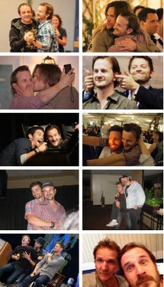 For a guy who was only in five SPN episodes, you'd never know it from the incredible relationship he has with the cast. #RichardSpeightJr and SPN Cast
