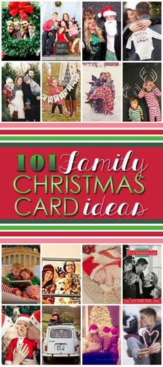101 Family Christmas Card ideas // photo credit to thedatingdivas