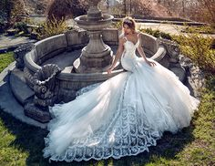 """New Galia Lahav wedding dresses always ignite a thrill and the reveal of their new collection """"Le Secret Royal"""" has everyone believing in love again."""