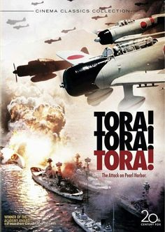 Tora! Tora! Tora! (Japanese: トラ・トラ・トラ) is a 1970 Japanese-American war film that dramatizes the Japanese attack on Pearl Harbor in 1941. The film was directed by Richard Fleischer, Toshio Masuda and Kinji Fukasaku and stars an ensemble cast, including Martin Balsam, Joseph Cotten, Sō Yamamura, E. G. Marshall, James Whitmore, and Jason Robards https://en.wikipedia.org/wiki/Tora!_Tora!_Tora!