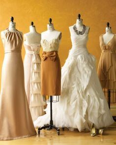 """See the """"Autumn Romance"""" in our Wedding Colors: Honey and Wheat gallery"""