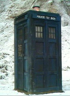 The Tardis - Doctor Who's deceptively roomy travel machine / police box