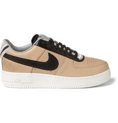 Nike Riccardo Tisci Air Force 1 Leather Sneakers  | MR PORTER