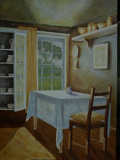 Interior, Painted by Hannes Scholtz