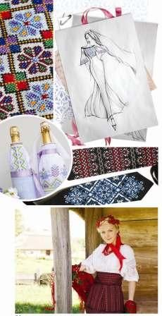 Exclusive ideas for using cross stitch and embroidery patterns for wedding clothes, items and accessories. Have a look at this special edition at http://dianaplus.eu/ukrainian-embroidery-special-edition-issue-p-6515.html
