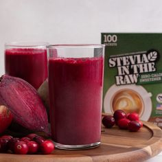 Beet and Berry Juice Cleanse Healthy Juice Recipes, Healthy Detox, Healthy Juices, Healthy Smoothies, Healthy Drinks, Healthy Snacks, Yummy Drinks, Detox Juices, Green Smoothies